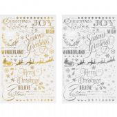 TIM HOLTZ® IDEA-OLOGY™ - Remnant Rubs – Gilded Christmastime - TH93636